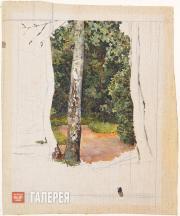 Якунчикова Мария. Береза. 1890-е