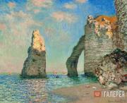 Monet Claude. The Cliffs at Etretat. 1885
