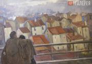 Ufimtsev Viktor. Roofs of Paris. 1960-1961