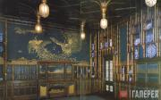 Уистлер Джеймс МакНилл. Гармония в голубом и золоте: павлинья комната. 1876–1877