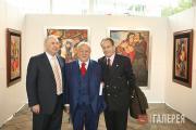 Zurab Tsereteli and Honorary members of the Russian Academy of Arts