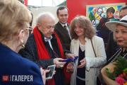 "Opening of the RAA pavilion at the International Exhibit­ion ""Art en Capital"""