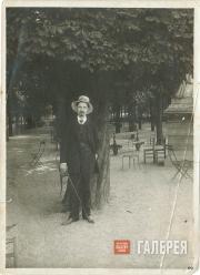 Nikolai Chernyshev in Paris. 1910