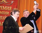 Olga Allenova, laureate of the Pavel Tretyakov Prize, and Viktor Bekhtiev