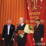 Viktor Bekhtiev, Vitold Petyushenko, laureate of the Pavel Tretyakov Prize, ...
