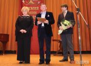 Alina Teis, laureate of the Pavel Tretyakov Prize; Viktor Bekhtiev...