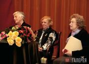 The 2008 Tretyakov award winners: Ida Gofman, Lidya Romashkova and Galina Yushke