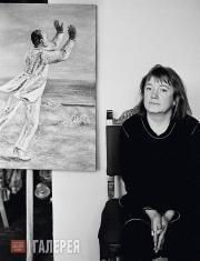 Natalya Nesterova. Moscow. 1980s