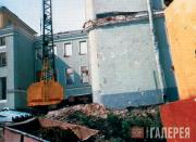 Construction of the Private Collections Museum building. 1987
