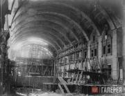 Строительство теплого перрона Казанского вокзала