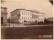 The house of Prince Sergei Saltykov in Myasnitskaya