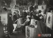 he VKHUTEMAS. Studio at the Department of Painting