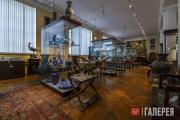 Современная экспозиция Музея декоративно-прикладного и промышленного искусства