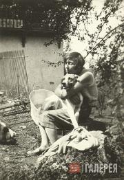 Marina Tsvetaeva. Photograph. 1930