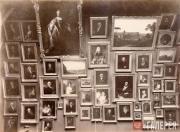 Картины художников XVIII века в зале № 2 Третьяковской галереи. 1898