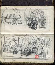 К.С. Станиславский. Зал суда. Картина VIII,  действие V. 1926–1927