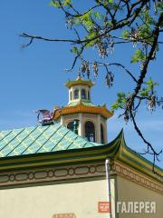 The Chinese Village at Tsarskoye Selo