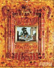 Фрагмент воссозданной Янтарной комнаты