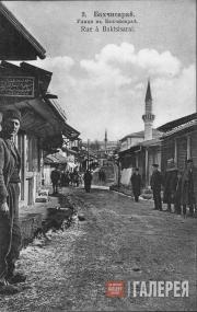 Bakhchisarai. A street