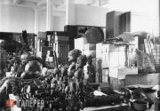Hall containing objects acquired during the African Expedition of 1910/11 led by