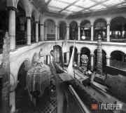 Atrium of the Ethnological Museum in Berlin. 1906