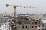 Construction of the new Tretyakov Gallery building on Kadashevskaya Embankment