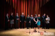 At the opening of From Elizabeth to Victoria at the Tretyakov Gallery, Moscow, A