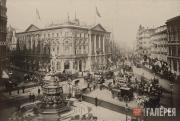 Piccadilly Circus and Coventry Street, London. 1890s