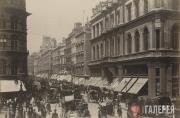 Чипсайд, Лондон, вид на на западную часть города. 1890-e