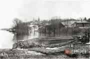 Таруса. Разлив Оки. 1915