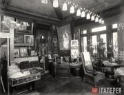 Alexei Bakhrushin's study in his Moscow mansion