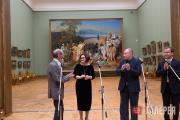 June 13 2017. Ceremonial presentation to the Tretyakov Gallery of Erik Bulatov's