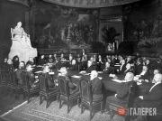 A meeting of the Presidium of the Imperial Academy of Arts