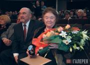 Lydia Iovleva, Tretyakov Prize Laureate and Valentin Rodionov