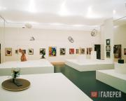 """View of the exhibition """"The Great Utopia"""""""