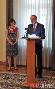 Пьер Хельг, Посол Швейцарии в Российской Федерации