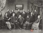 Члены Московского товарищества художников