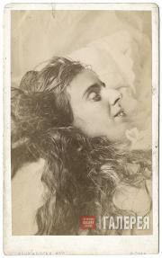 Maria Obolenskaya on her deathbed. 1873