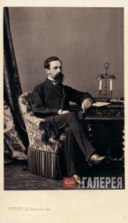 Sergei Tretyakov. Early 1860s