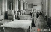 The Tretyakov Gallery branch storage in the Novosibirsk Opera House. 1942