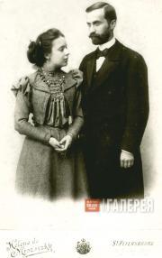 Viktor and Cleopatra Obninsky. St. Petersburg. 1900
