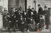 """The """"Makovets"""" group of artists. 1921"""