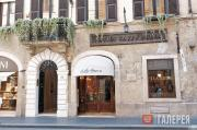 Entrance of the Antico Caffè Greco