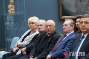 From left: Alexander Burganov, Tair Salakhov, Alexander Bessmertnykh, P. Borodin