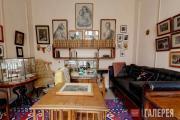 Интерьер кабинета Л.Н. Толстого в Музее-усадьбе Л.Н. Толстого «Ясная Поляна» в Т