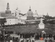 Крестный ход в Троице-Сергиевой Лавре по случаю 500-летия со дня прославления