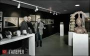 """Exhibition """"Marcus Golter, Potsdam - Sculptural works on the Stadtgottesacker Ce"""
