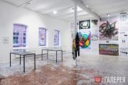 """Exhibition view """"Money and Psyche"""""""