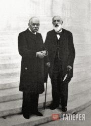 И.В. Цветаев и Ю.С. Нечаев-Мальцов. 1913