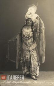 Antonina Nezhdanova as the Queen of Shemakha